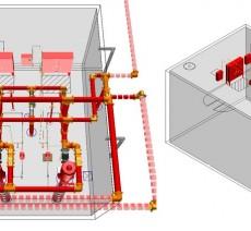 บริการงานออกแบบระบบป้องกันและระงับอัคคีภัย Fire Prevention Design & Fire Control